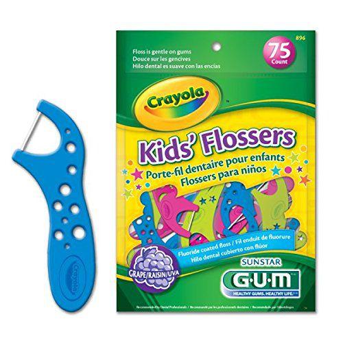 Fio Dental Kids´ Flosser Infantil Gum Crayola