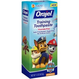 Creme Dental Sem Flúor Orajel Patrulha Canina