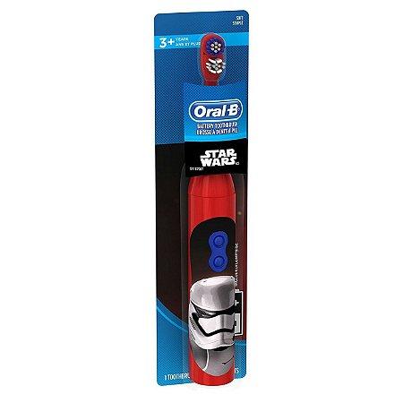 Escova Elétrica Oral B Star Wars - Vermelha