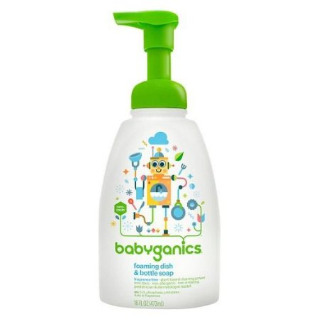Detergente Orgânico para Utensílios do Bebê Babyganics