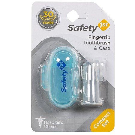 Dedal de Silicone Transparente - Escova de Dente Infantil - Safety 1st