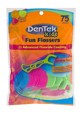 Fio Dental Infantil Kids Flosser Dentek
