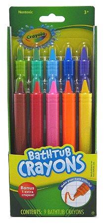 Giz de Cera Para Banho Crayola