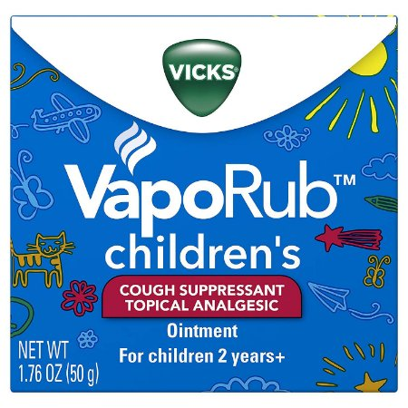 Pomada Descongestionante Vicks VapoRub Children