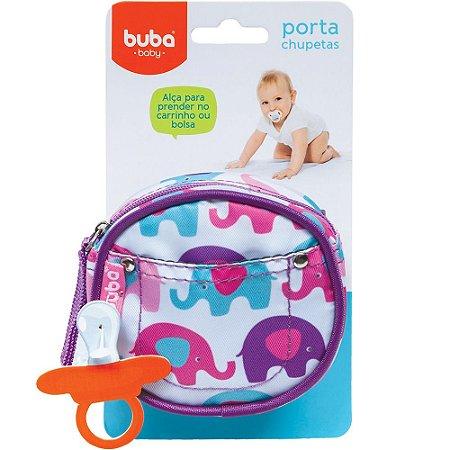 Porta Chupetas Elefantinho - Buba Baby