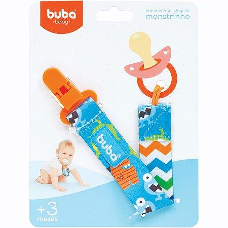 Prendedor de Chupeta Monstrinhos - Buba Baby