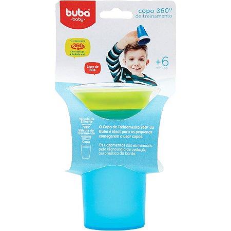 Copo com Alça de Treinamento 360 Azul - Buba Baby