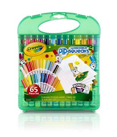 Kit de Canetinhas Laváveis Pip-Squeaks - Crayola