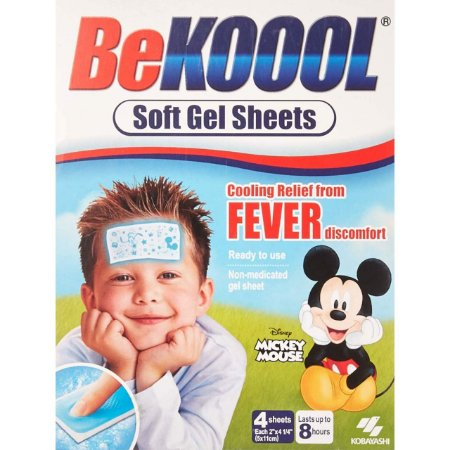 Be Kool Koool Soft Gel Sheets For Kids - Adesivo para Febre