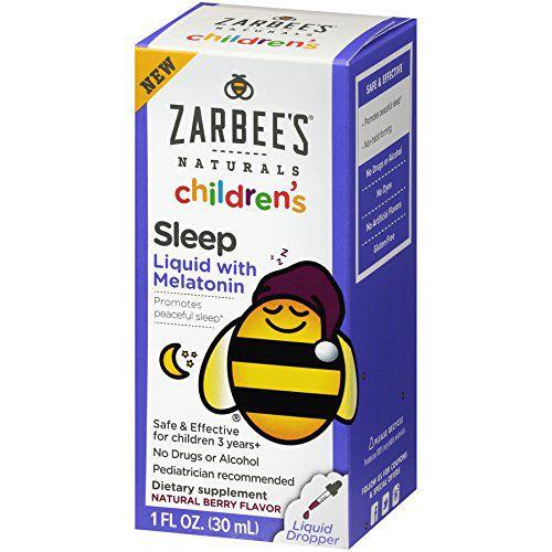 Melatonina Infantil Zarbees Sleep Gotas - 30 ml
