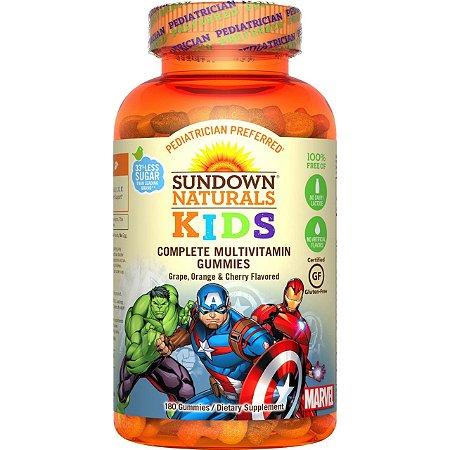 Complexo Vitamínico para Crianças Avengers - Sundown Naturals