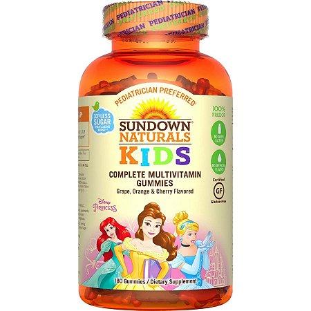 Complexo Vitamínico para Crianças Princesas - Sundown Naturals