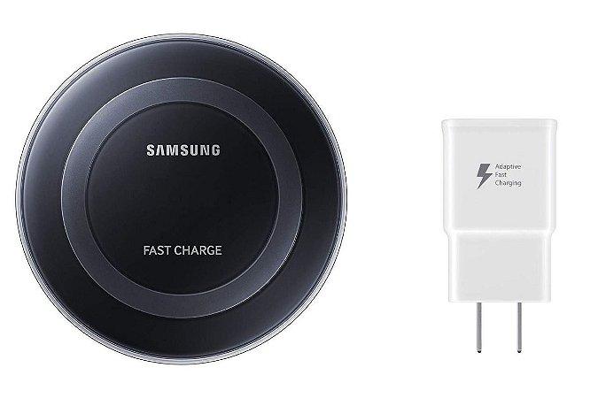 Carregador Sem Fio Preto para Celular - Samsung