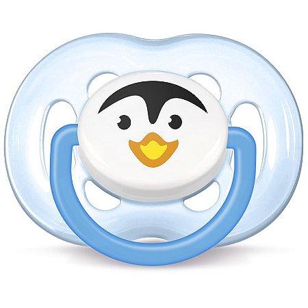 Chupeta Azul Pinguim Freeflow SCF183/14 - Philips Avent