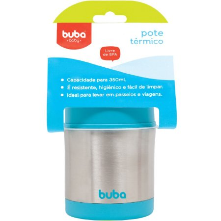 Pote Térmico Azul - Buba Baby