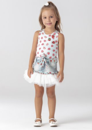 Conjunto Mc Strawberry 018 - Petit Cherie