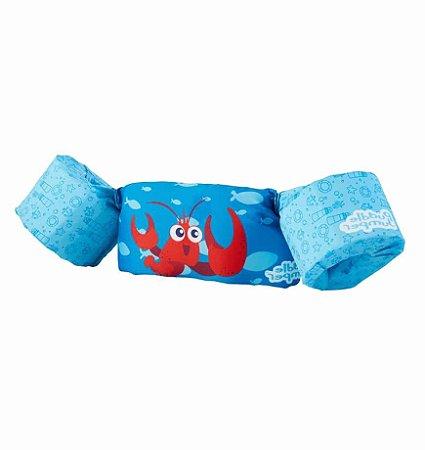 Colete Salva Vidas Lagosta Azul - Puddle Jumper