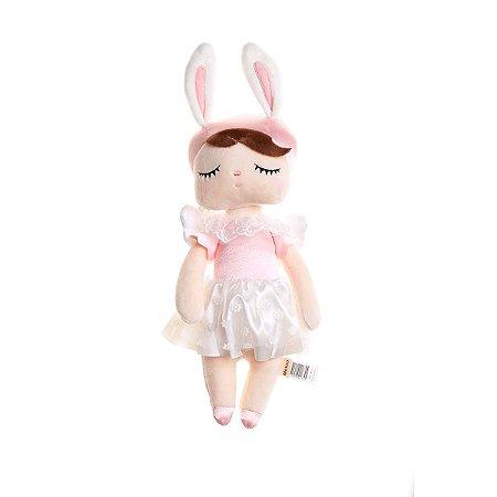 Boneca Angela Angel Rosa 33cm - Metoo