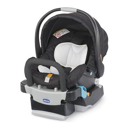 Cadeira Auto e Bebê Conforto com Base Keyfit Night Grafite - Chicco