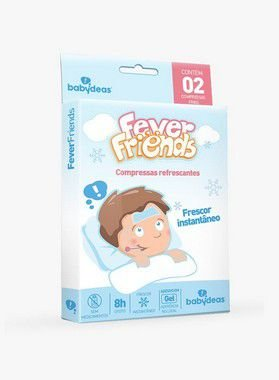Fever Friends Compressas Refrescantes 2 un - Babydeas