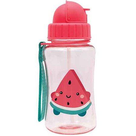 Garrafa com Canudo Frutti Melancia 350ML - Buba Baby
