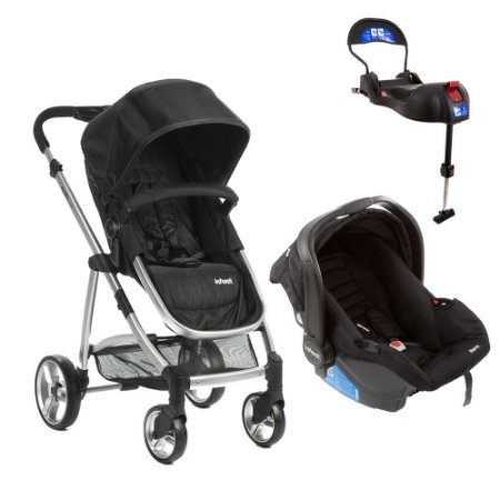 TRAVEL SYSTEM EPIC LITE TRIO INFANT ONYX