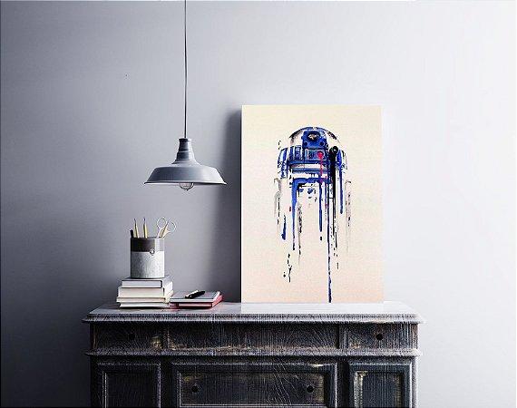Quadro Decorativo Star Wars R2D2