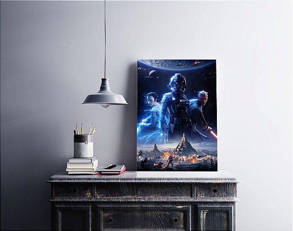 Quadro Decorativo Star Wars Battlefront