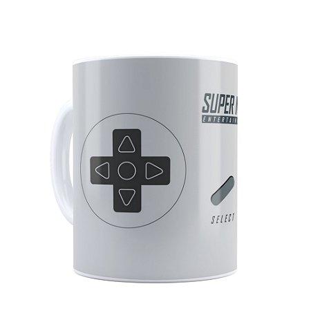 Caneca Nerd Super Nintendo