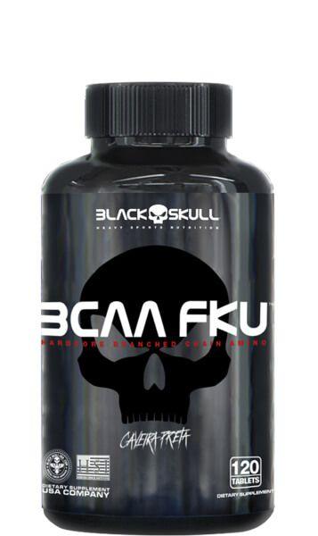 Bcaa fku-Black Skull-120-tabs