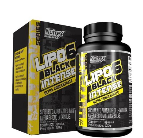 Lipo 6 Black Intense Ultra (120 caps) - Nutrex