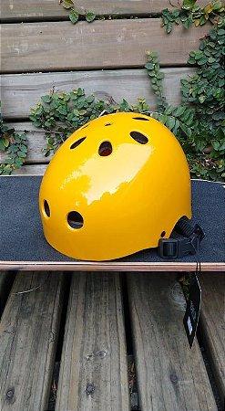 Capacete de Proteção leloskateboards Amarelo