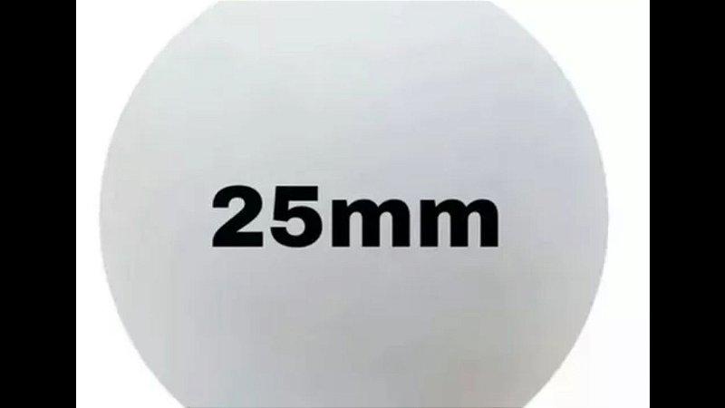 BOLA ISOPOR 25mm