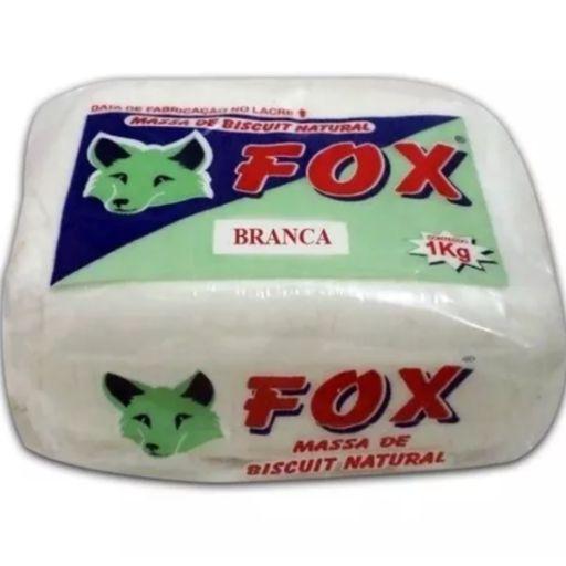 Massa Fox Branca 1KG