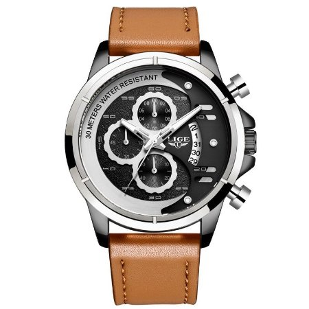 Relógio LIGE 9947 Empire Gold