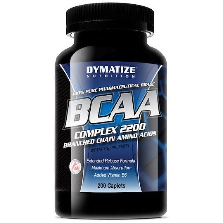 BCAA Complex 2200 200 capsulas - Dymatize Nutrition Validade 11/2018
