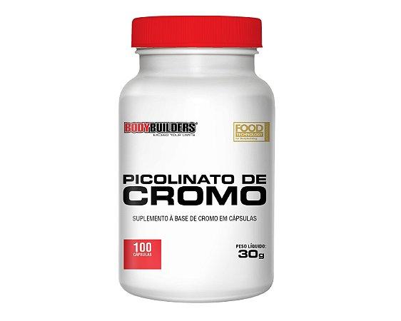 Picolinato de Cromo 100 capsulas Bodybuilders Val 05/2018
