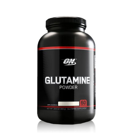 Glutamina Powder Black Line ON 300g Optimum Nutrition Validade 10/2018