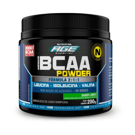 BCAA Powder Age 2:1:1 200G Nutrilatina