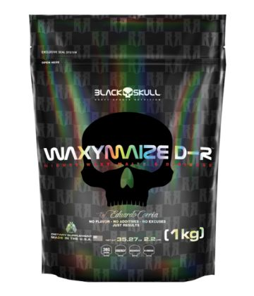 WAXY MAIZE D-R BLACK SKULL 1KG REFIL