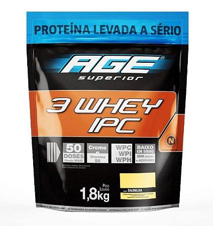 3 Whey ipc Age pouch Nutrilatina 1,8kg