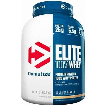 Elite 100% Whey Protein 5lb Dymatize