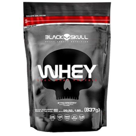 Whey 100% Black Skull 837g Refil