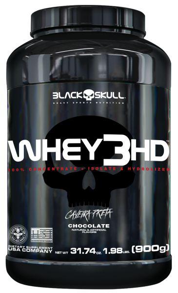 Whey 3HD 900g Black Skull