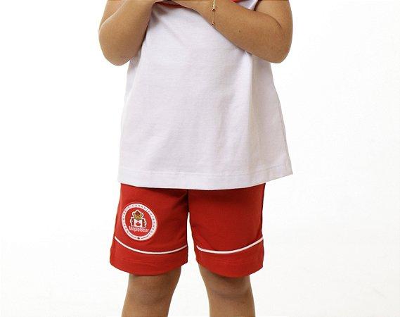 Bermuda Ciclista Feminina MapleBear Infantil