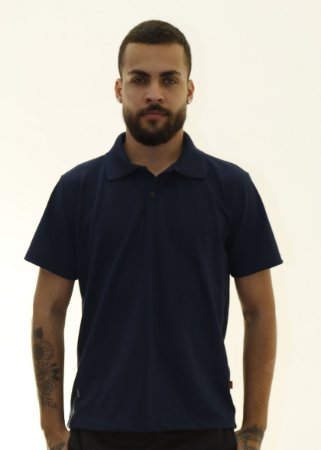 Camiseta Polo Azul Marinho