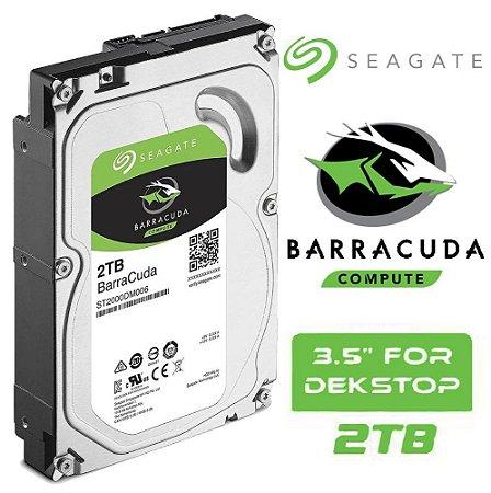 HD 2TB Seagate Barracuda