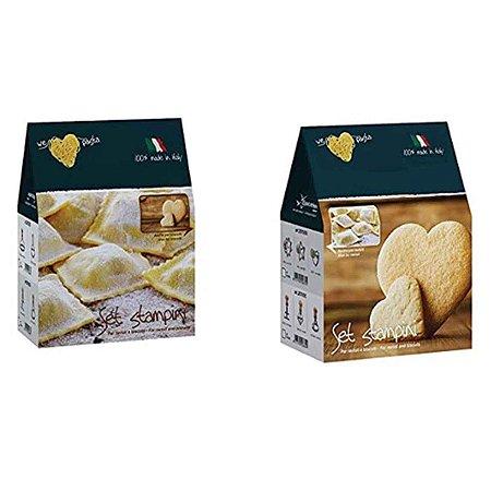 Set cortador de Ravioli e Biscoito Italiano  Eppicotispai