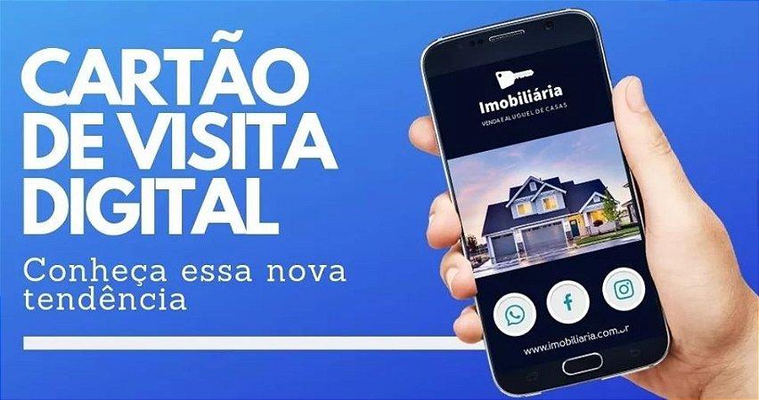 Cartão de Visitas Interativo PADRÃO