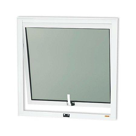 Maxim-Ar 1 Seção em Alumínio Branco c/ Vidro Mini Boreal - Brimak Confort
